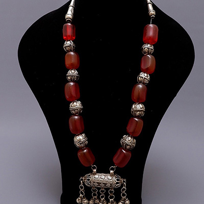 Yemen necklace amulet